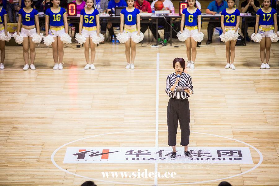 2015华亿杯中美篮球职业巡回赛火热开赛